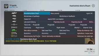 Skórka Confluence v2 do wtyczki m-TVGuide 6.2.3 w Kodi